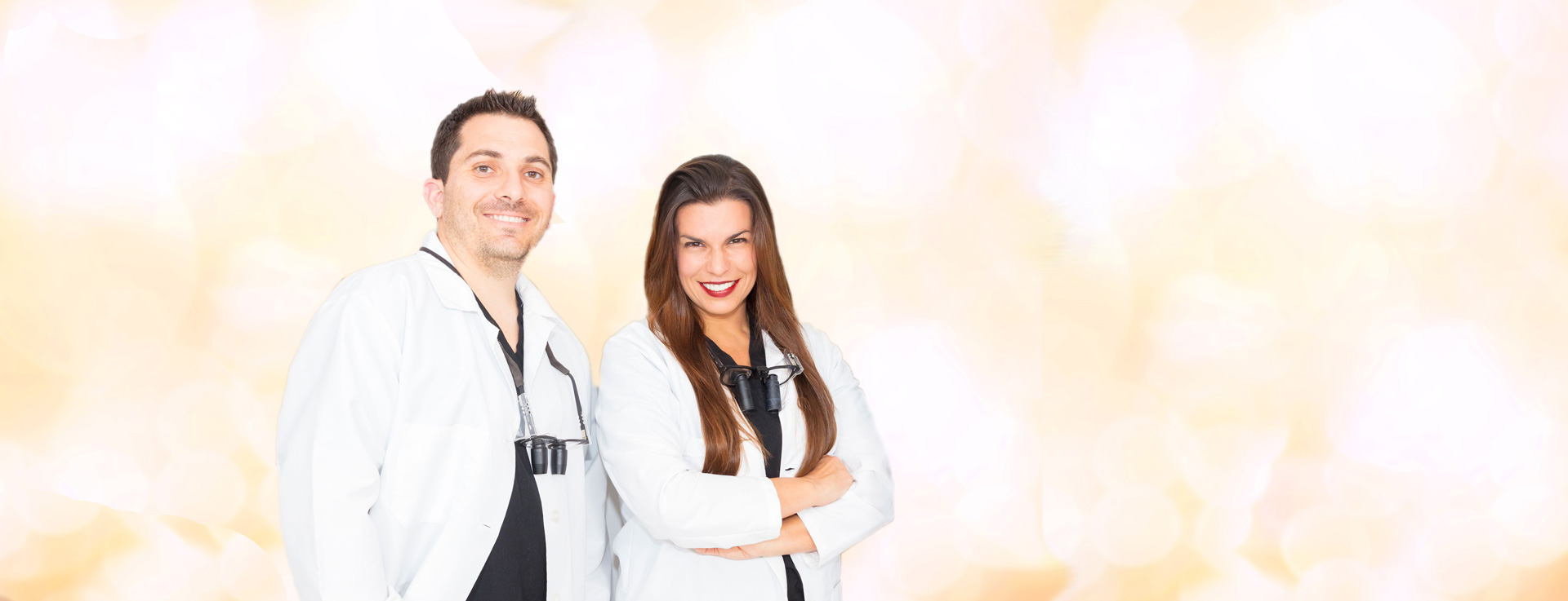 Female and Male Dentist Near Daytona Beach